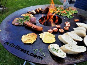 Feuerplatte von Grillrost.com